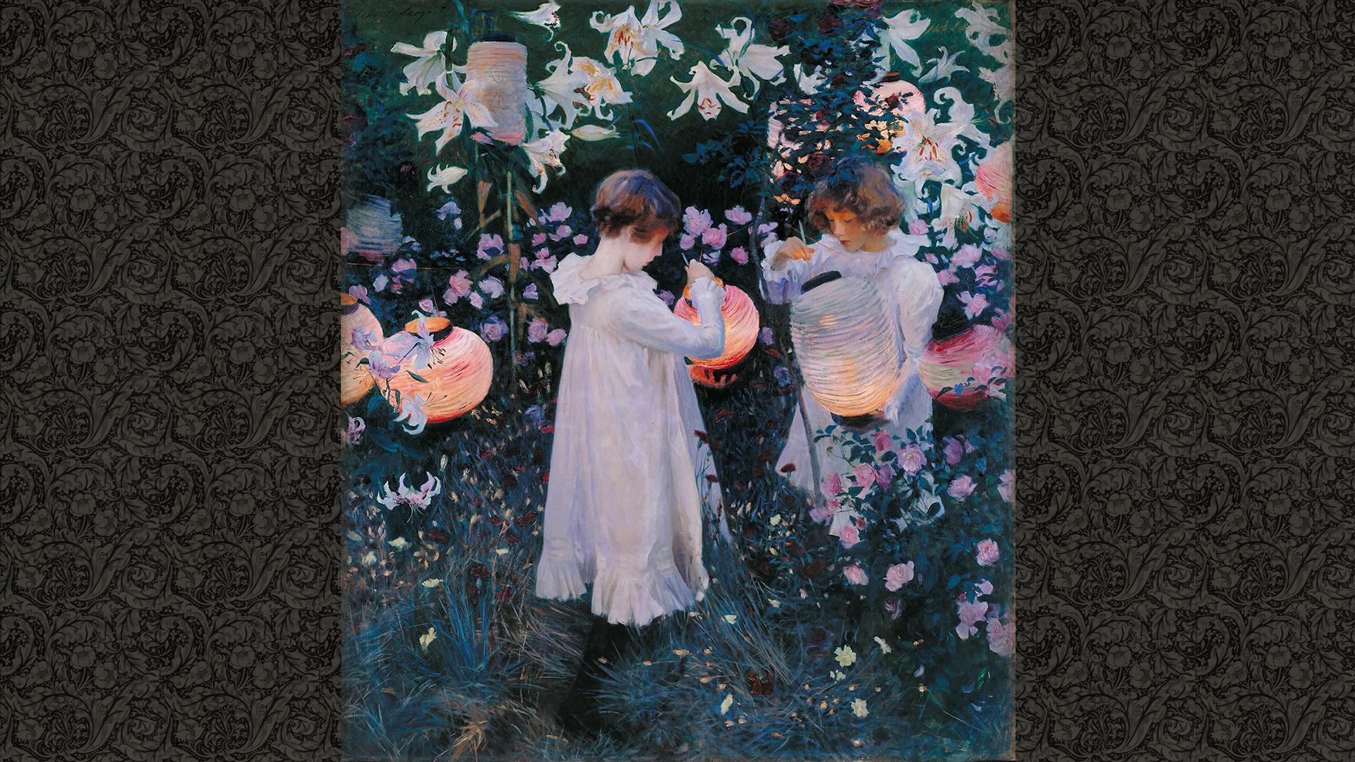 John Singer Sargent-carnation lily lily rose_1920X1080
