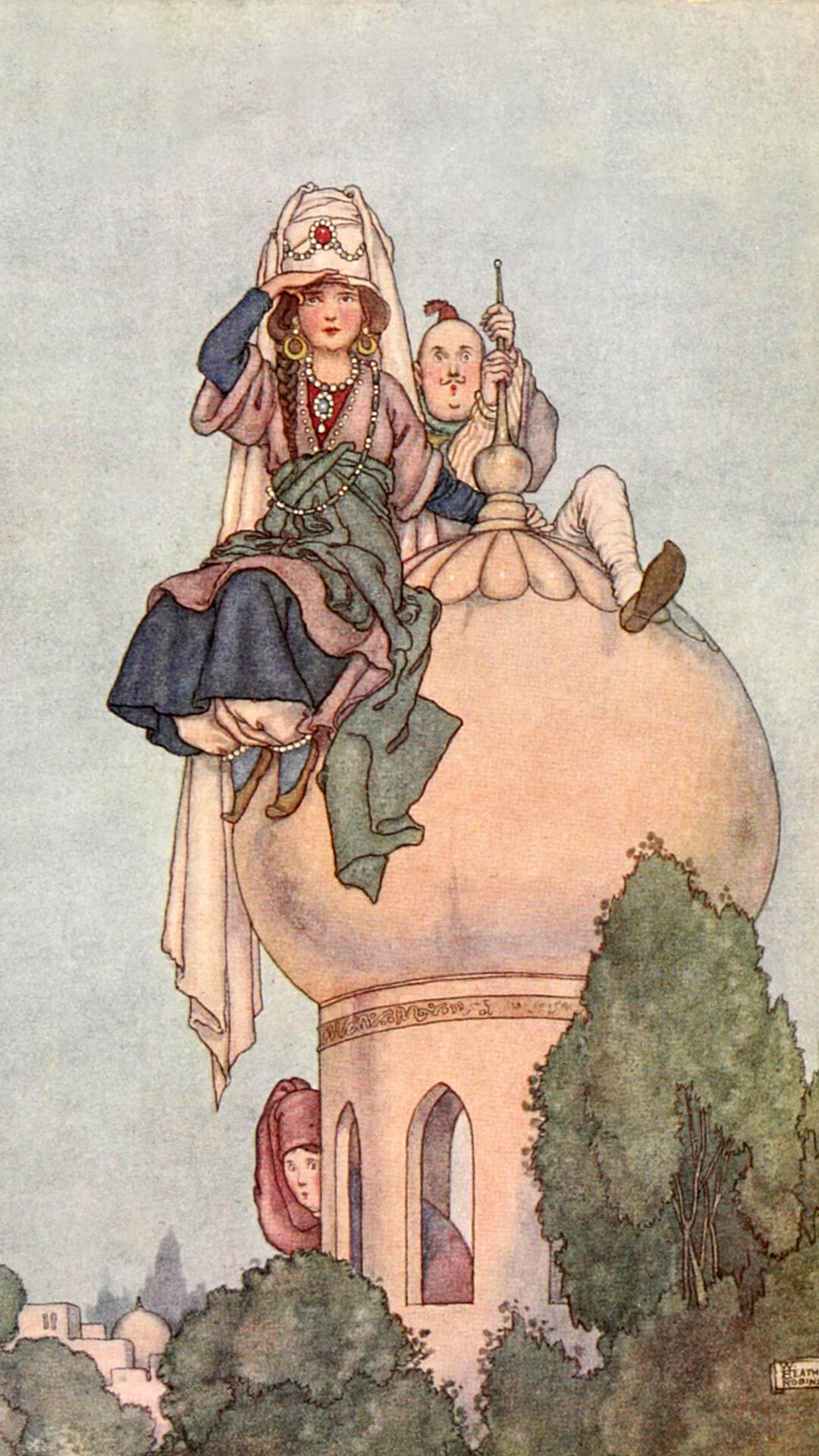 William Heath Robinson-Hans Andersen's fairy tales_1080x1920