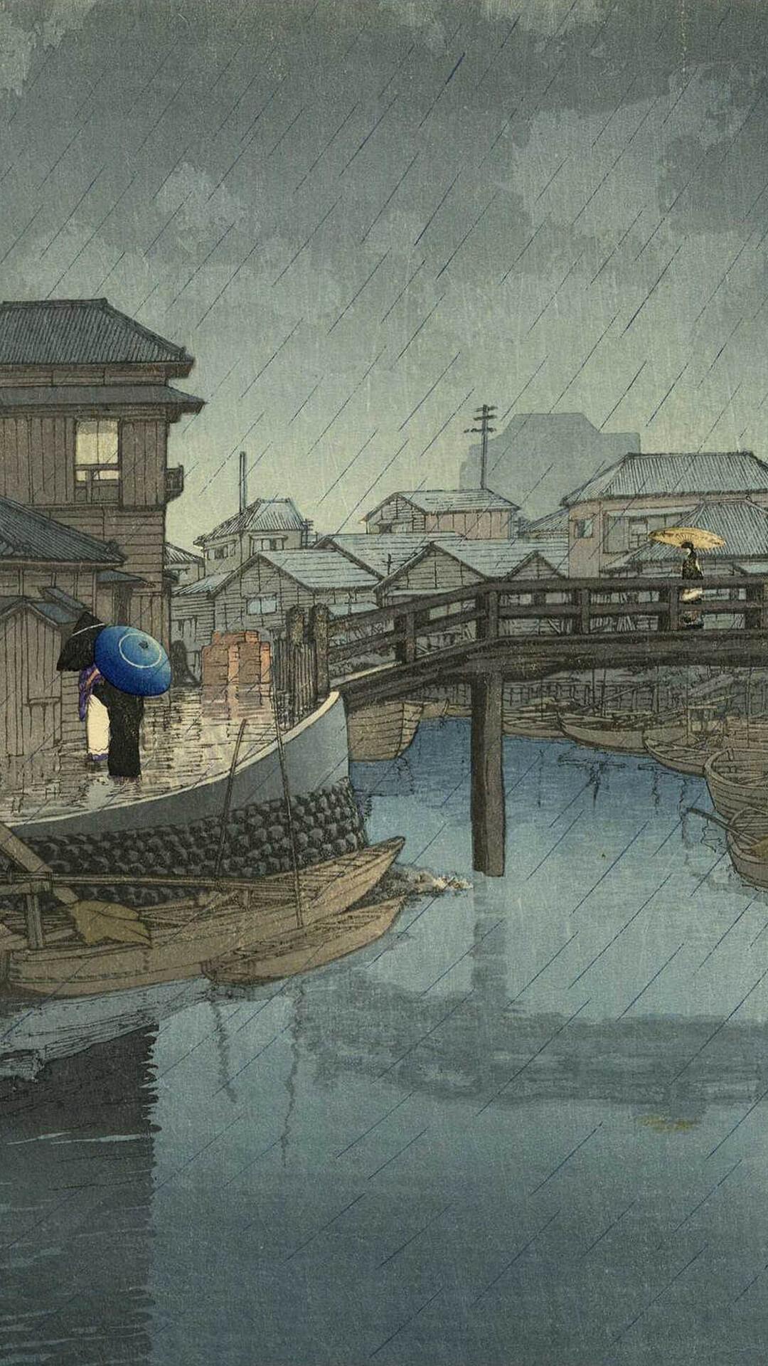 kawase hasui-toukaidou fuukeisensyu shinagawa_1080x1920